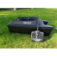 Quality DEVC-300 black bait boat / Remote Control Fishing Boat With Fishfinder for sale