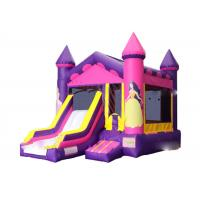 China Doll Princess Inflatable Jumping Castle / Jumping Blow Up Castle 4M× 6M× 4M on sale