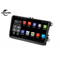 Quality GOLF Volkswagen Android Car Stereo Radio Player Multi Touch Screen Head Unit for sale