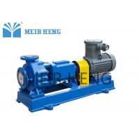 Quality Single Stage FEP Lined Centrifugal Pump / End Suction Centrifugal Pump for sale