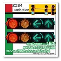 China LED Traffic Lamp Lights Signal Heads CE Approved Semaforos Traffic Signal Lamp on sale