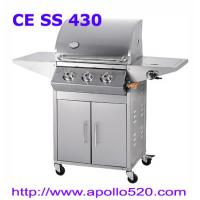 Quality 3 Burner Gas Barbeque Grill plus side burner for sale