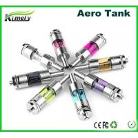 China 2.0mL Atomizer Aero Tank Ego E Cig Dual Coil With 510 Drip Tip , Stainless Steel on sale