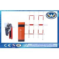 China Access Control Automatic Boom Barrier / Car Park Boom Gates Fencing on sale