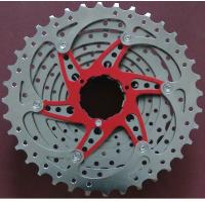 China Sheet Stamped MTB Mountain Bike Cassette Sprocket 8-10 Speed Freewheel on sale