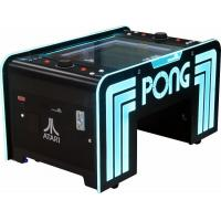 Quality Redemption Arcade Game Machine Pong Coffee Table In Office Or Bar for sale