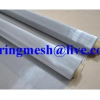 Quality stainless steel screen printing mesh/stainless steel wire screen printing mesh for sale