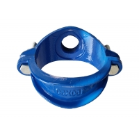 Quality 1.6mpa BSP NPT Cast Iron Pipe Fittings Saddle Clamp for sale
