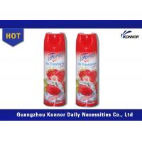 Quality 300ml Household Canned Air Freshener Sprays With Tinplate Material for sale