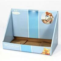 Quality Store Paper Cardboard Display Stand Box, Display Tray For Display Small Toys for sale