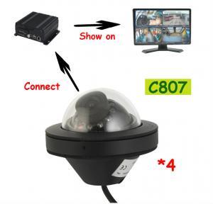 Best Recoda C807 1080P AHD Mini Dome IP68 Truck Reversing Camera weatherproof with fixed lens wholesale