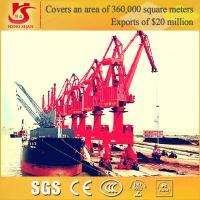 Quality Port Loading & Unloading Offshore Pedestal Port Crane with 360 Degree rotation for sale