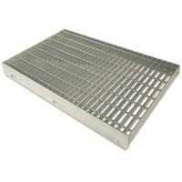 Quality Steel Bar Tru Pressure Welded Grating , Galvanized Serrated Grating for sale