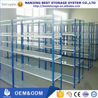 China Very Low cost file steel storage rack light duty shelf rack for office room ISO CE certificated on sale