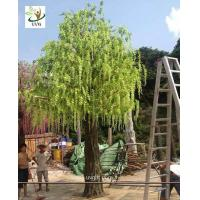 Best UVG trees are artificial with wisteria blossoms for party and beach wedding decoration WIS013 wholesale