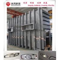 China Cube Type PVD Vacuum Coating Machine For Car Accessories ABS Reading Light Lamp Cover on sale