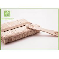 Best European Style Personalized Wooden Ice Cream Spoons Bulk Popsicle Sticks Odorless wholesale