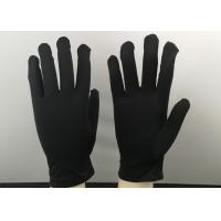Quality Zero Scratches Jewelry Cleaning Gloves Large Size 23cm Length Machine Washable for sale