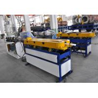 Quality PE/PP/PVC/EVA Single Wall Corrugated Pipe Production Line , Plastic PP Pipe Welding Machine for sale