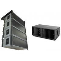 Quality 135db SPL 400w AES Flown Outdoor Pa System W8LC Superior Bass 90° Horizontal for sale