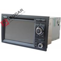Quality Original Front Panel 2 Din In Dash Car Dvd Player With Reverse Camera For A4 / Seat EXEO for sale