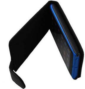 Quality Non-toxic Nokia Leather Phone Case , Nokia Lumia 900 Flip Leather Pouch for sale