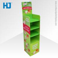 Quality Customized Advertising Cardboard Pallet Display , 4 Tiers Floor Display Stand for sale