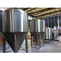 Quality Refrigerated Stainless Steel Conical Fermenter 1000L Large Brewing Equipment for sale