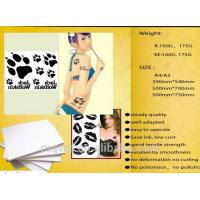 China Meiqing Temporary Inkjet Tattoo Paper/tattoo decal paper/DIY/A4/Made in China on sale