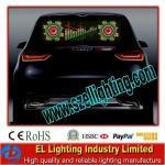 Quality EL Flashing Window Car Sticker, Customized Car Stickers for sale