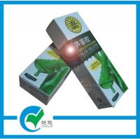 Quality white glossy cardboard packaging printing for sale