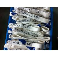 Buy Safety Factor 5 To 1 Endless Webbing Sling 900kg White Color OEM Available at wholesale prices