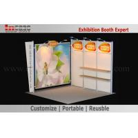 Best Modular 10x10 Booth Display Aluminum Frame Digital printing Easy Set Up wholesale