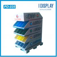 Best cardboard display rack,paper pallet display stand,pop paper display,point of purchase display wholesale