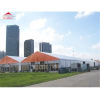 Quality 1000 People Wedding Marquee Tent With Transparent Glass Sidewalls for sale