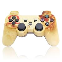 Quality Double Motor Vibration Bluetooth Playstation 3 Controller Lithium Battery Charging for sale