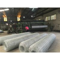 Quality Alloy 5% Alu - Zn Gabion Wall Baskets Hexagonal Hole For Slope Protection System for sale