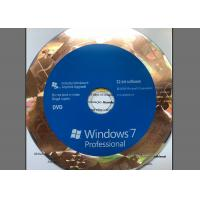 Quality 32 Bit / 64 Bit Windows 7 Professional Retail Box With Easy Installation for sale