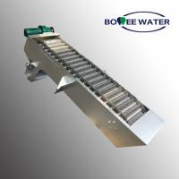 Buy cheap Stainless Steel Wastewater Fine Screens Welded Strcture Heavy Duty from wholesalers