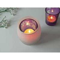 Quality Glass Tealight Candle Holder for sale