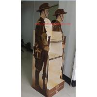 Best Customized corrugated cardboard retail shelf display Gloss lamination wholesale