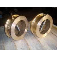 Quality Double Disc Wafer Type 2.5Mpa GGG40 Industrial Check Valves for sale