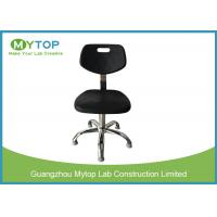 China Anti Static Foaming Surface Lab Chairs With Back Support , ESD Safe Lab Chairs on sale