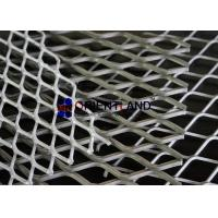 Quality Anti Rust Stretched Metal Mesh , Galvanized Expanded Mesh Cladding Free Sample for sale