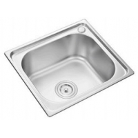 Buy cheap southeast asia hot sell plating square stainless steel #201kitchen sink 50*40CM from wholesalers