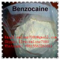 China 99% Purity Local Anesthesia Drugs Benzocaine CAS 94-09-7 With 20 - 50 / 200 Mesh on sale