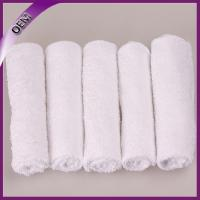Quality china supplier white cotton disposable hot aviation towel for sale