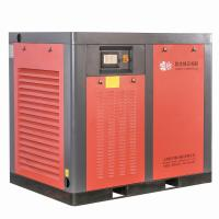 Quality High Efficiency Direct Drive Air Compressor / Red Double Screw Air Compressor for sale