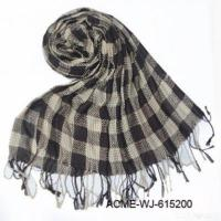 Quality Fashion Checked Scarf for sale