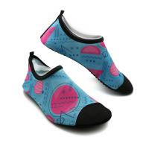 Quality Soft Ladies Swim Shoes Durable Ladies Aqua Beach Shoes BSCI Certification for sale